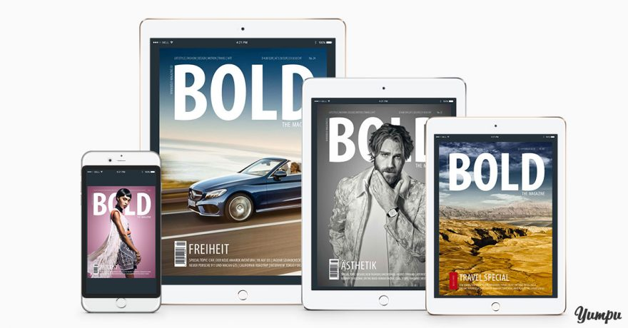5 Design tips for e-paper magazines