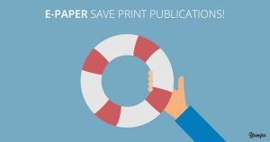 E-paper magazines boost ad sales for print media
